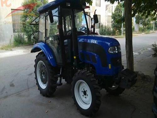 QLN Emark tractor and farm implements exported to Nigeria